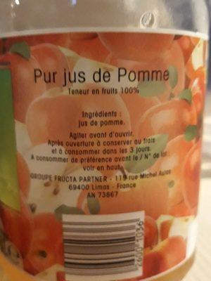 100 pur jus pomme - Ingrediënten