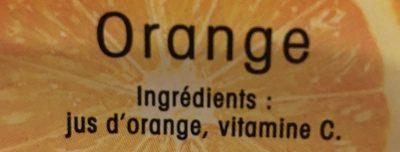 Jus d'orange - Ingrédients