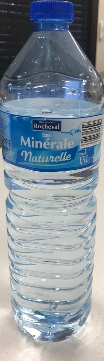 Eau minérale naturelle - Rocheval - 1,5 L e