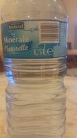 eau minérale naturelle - Produkt - fr