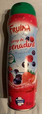 Sirop de grenadine FRUIMA - Product - fr