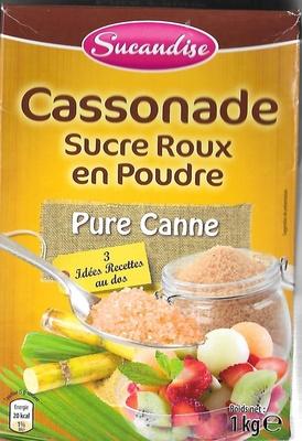 Cassonade Sucre roux en poudre - Product