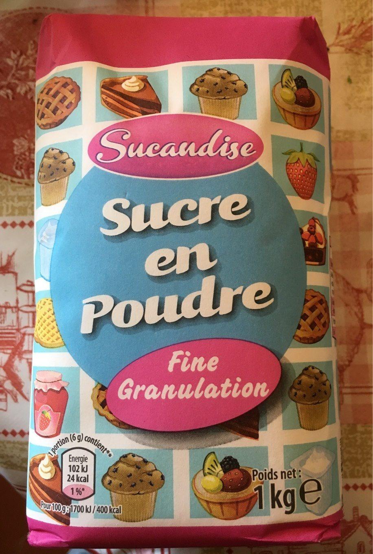 Sucre en Poudre Fine granulation - Product - fr