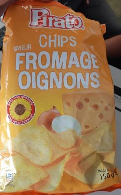 Chips saveur fromage oignons - Product