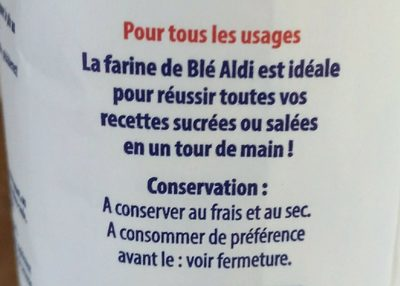 Farine de Blé type 45 - Ingredients - fr