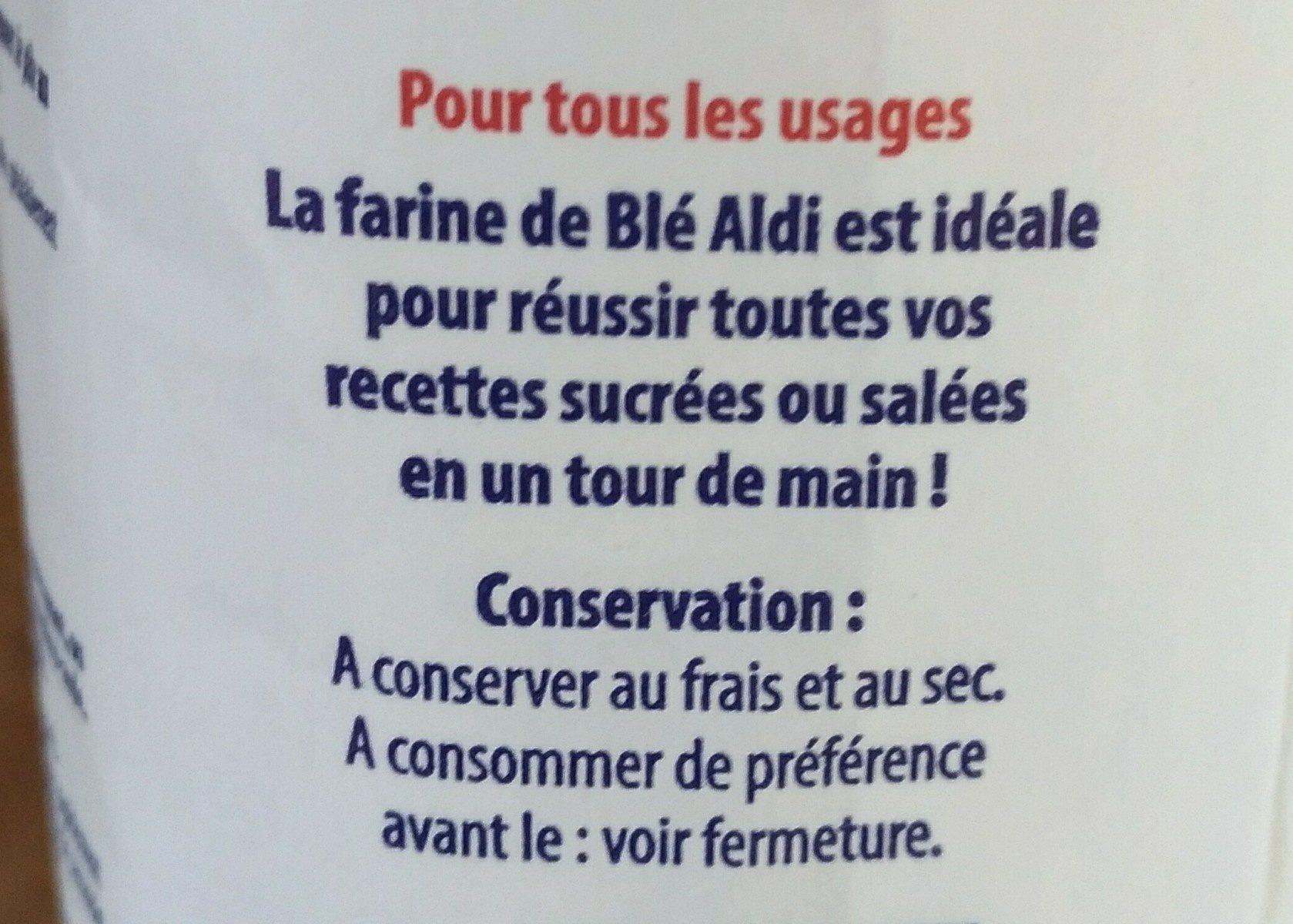 Farine de Blé type 45 - Ingrediënten