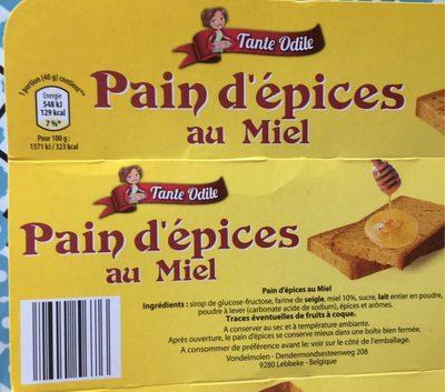 Pain d'épice au miel - Product