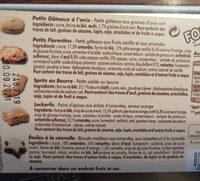 Assortiment de petits biscuits - Ingredienti - fr