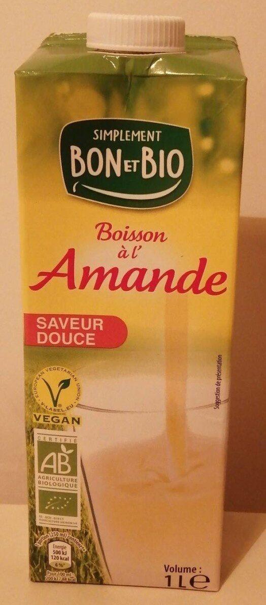 Boisson à l'amande - Produit - fr