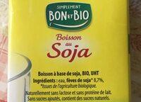 Boisson au soja - Ingrediënten