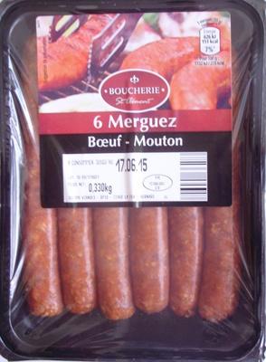 6 Merguez (Bœuf - Mouton) - Produit
