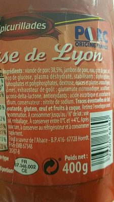 Le Petit Futé Chicago - Ingrediënten - fr