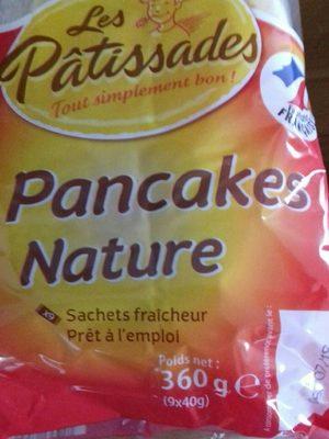 pancakes nature 9x40g - Produit - fr