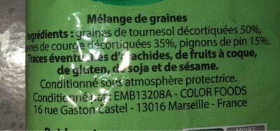 Graines pour salade - Ingrédients - fr