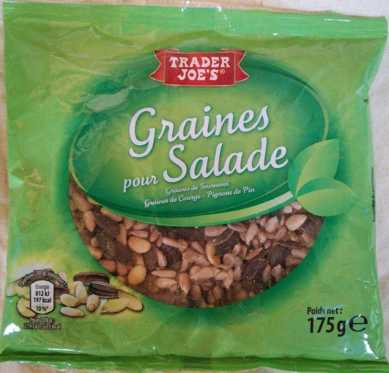 Graines pour salade - Informations nutritionnelles - fr