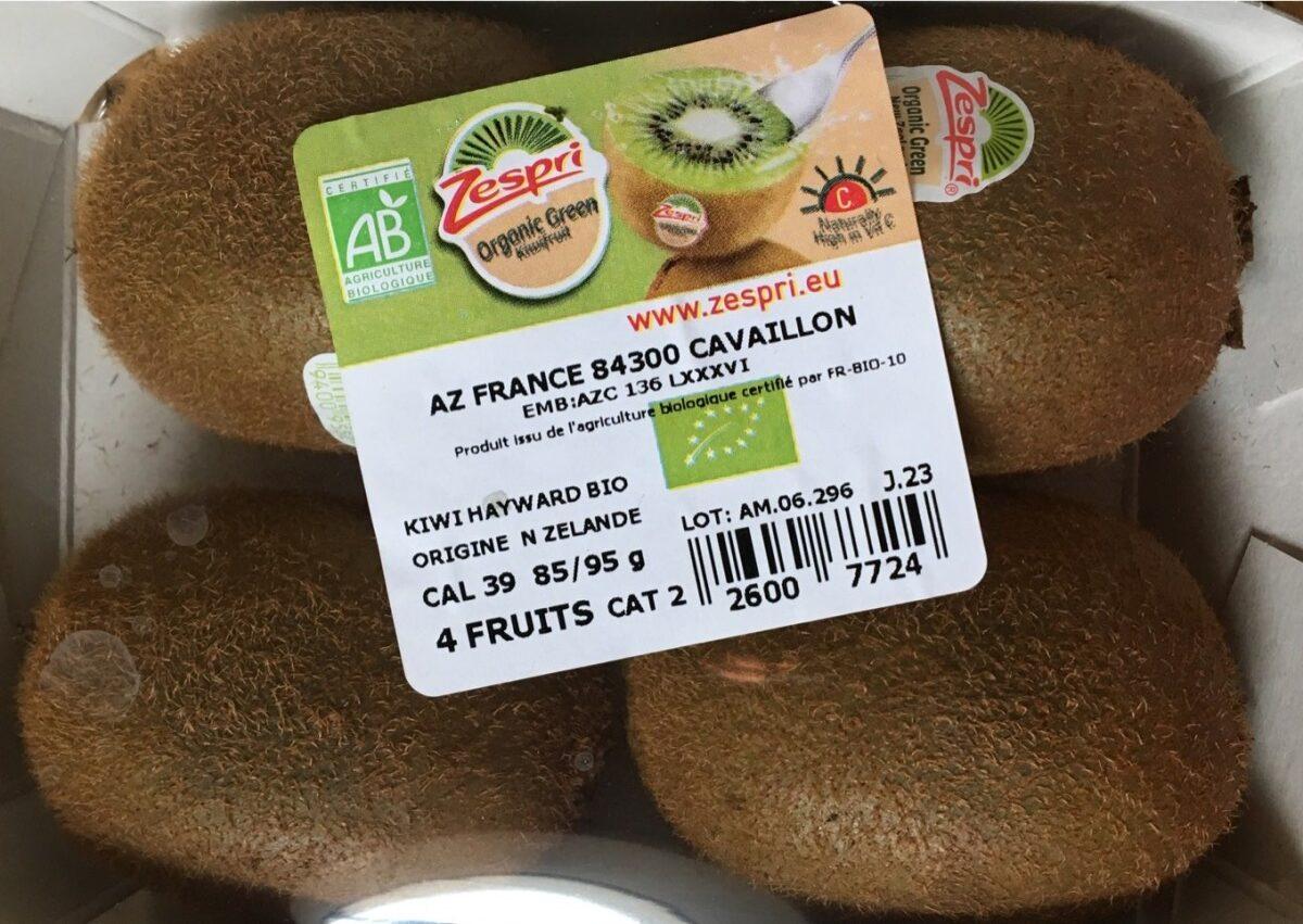 Kiwi hayward bio - Produit