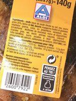 Chouquettes au sucre - Informations nutritionnelles - fr