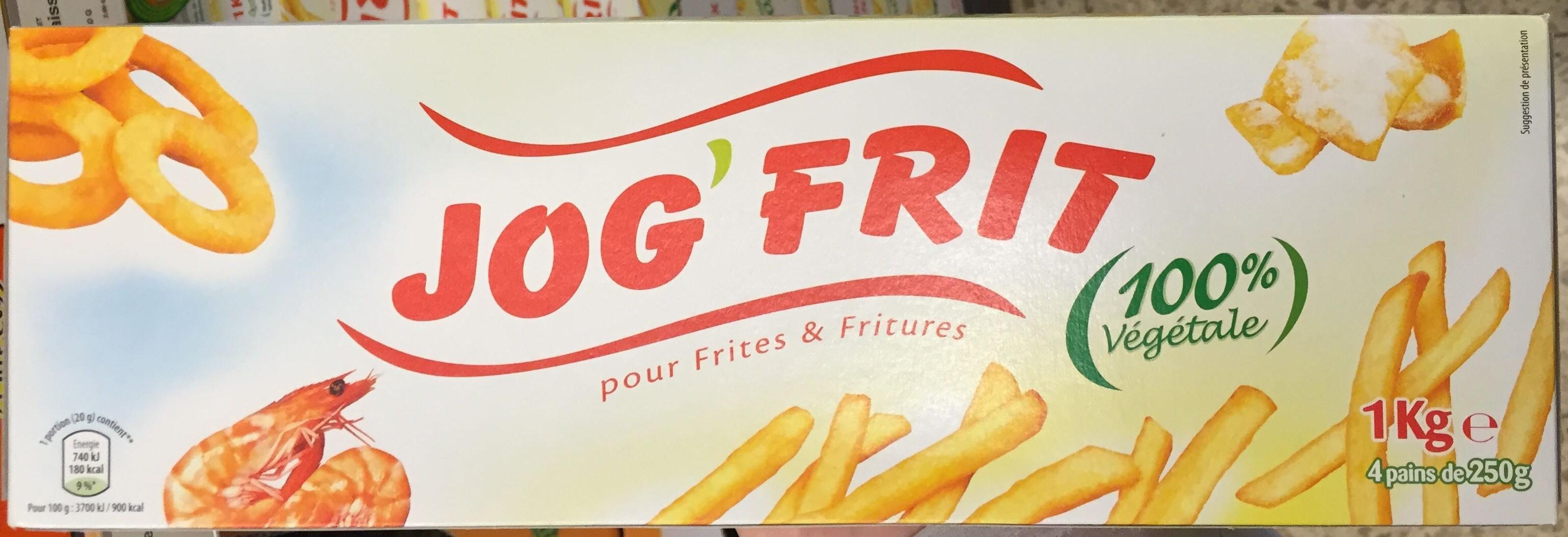 Jog'Frit - Produit