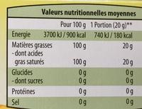 Jog'Frit - Informations nutritionnelles