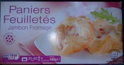 Paniers Feuilletés - Jambon Fromage - Produit - fr