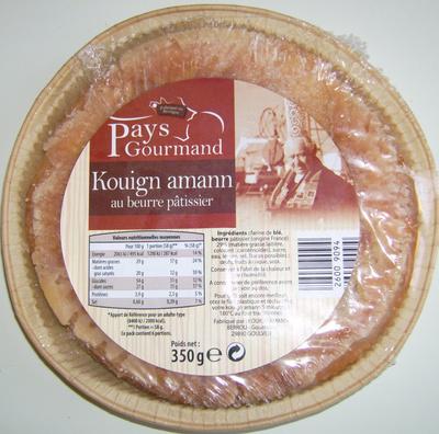 Kouign Amann au Beurre Pâtissier - Product