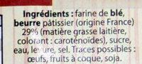 Kouign Amann au Beurre Pâtissier - Ingredients