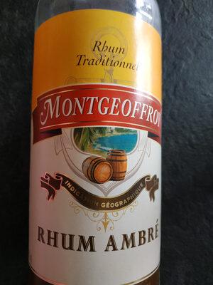 Rhum traditionnel - Produit