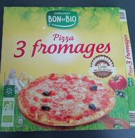 Pizza 3 fromages - Product - fr