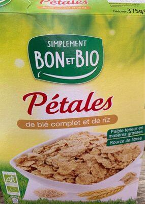 Pétales de blé complet et de riz - Product