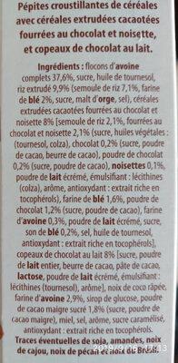 Crunchy mix muesli chocolat - Ingredienti