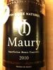 Maury - Product