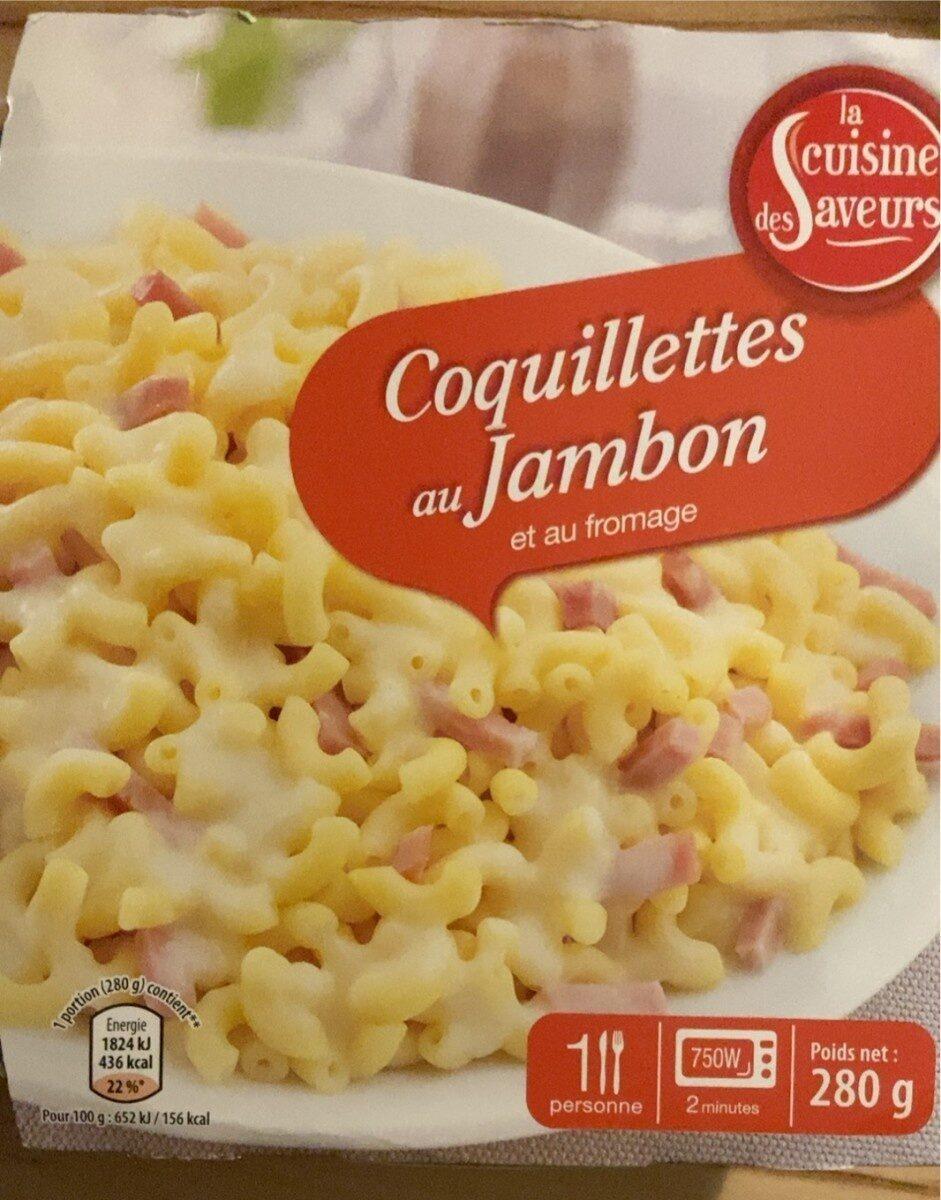 Coquillettes au jambon et au fromage - Produit - fr