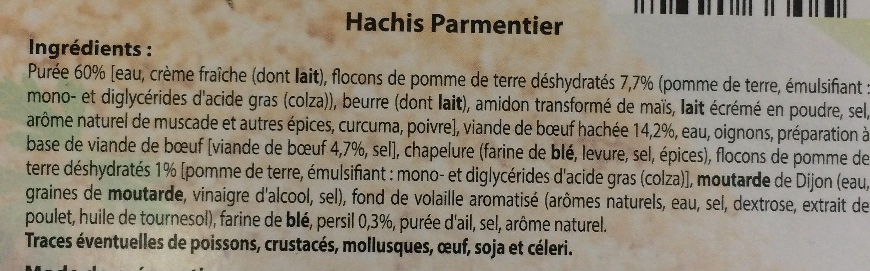 Coquillettes au jambon et au fromage - Ingrédients - fr