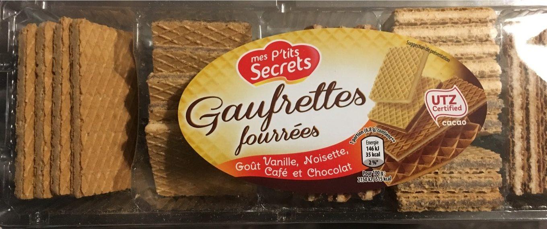 Gauffrette fourrées - Produit - fr