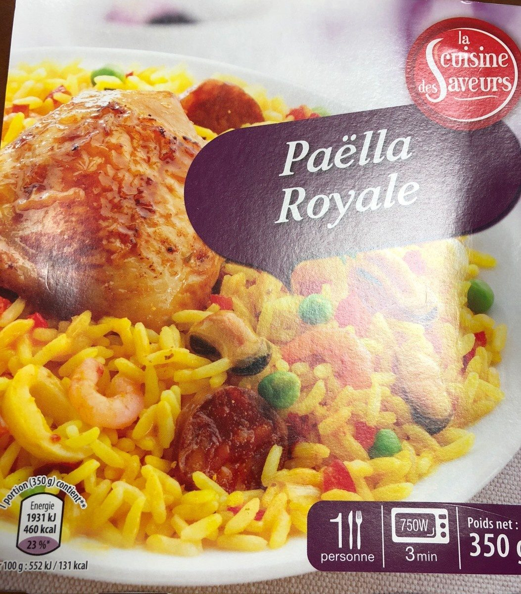 Paella royale - Product