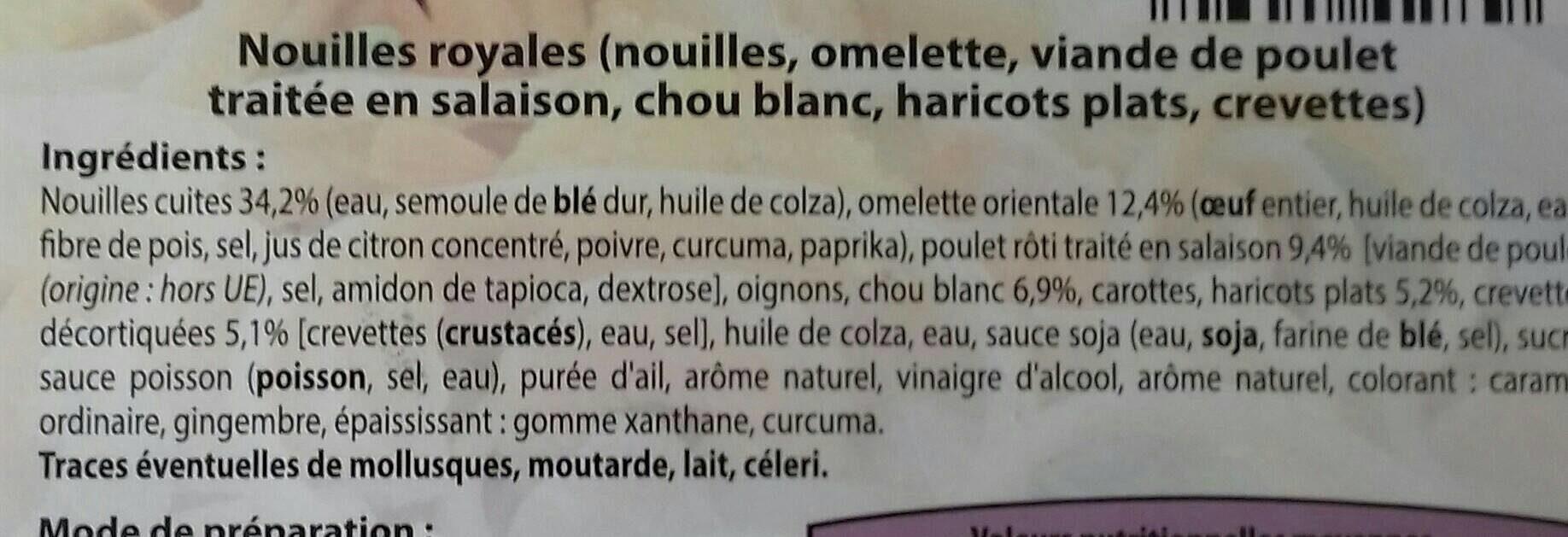 Code-barres invalide - Ingrédients - fr