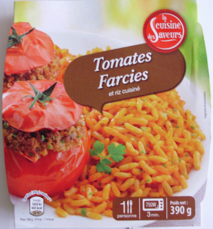 tomates farcies et riz cuisiné - la cuisine des saveurs - 390 g