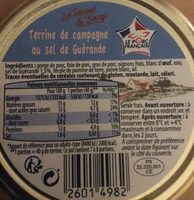 Terrine de porc au sel de Guérande - Ingrediënten