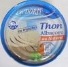 Thon albacore au naturel en tranches - Product