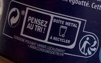 Thon albacore au naturel - Instruction de recyclage et/ou information d'emballage - fr