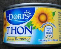 Thon à L'huile De Tournesol - Produit