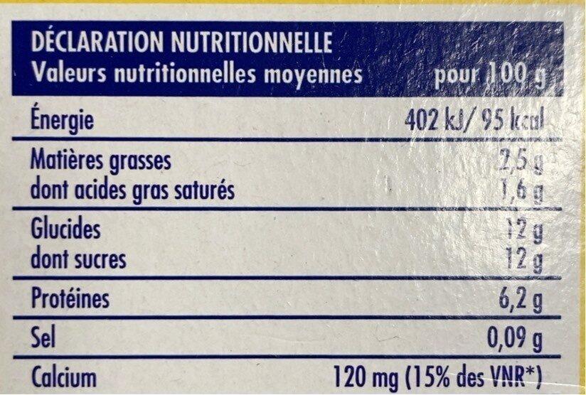 thon en boite - Nutrition facts - fr