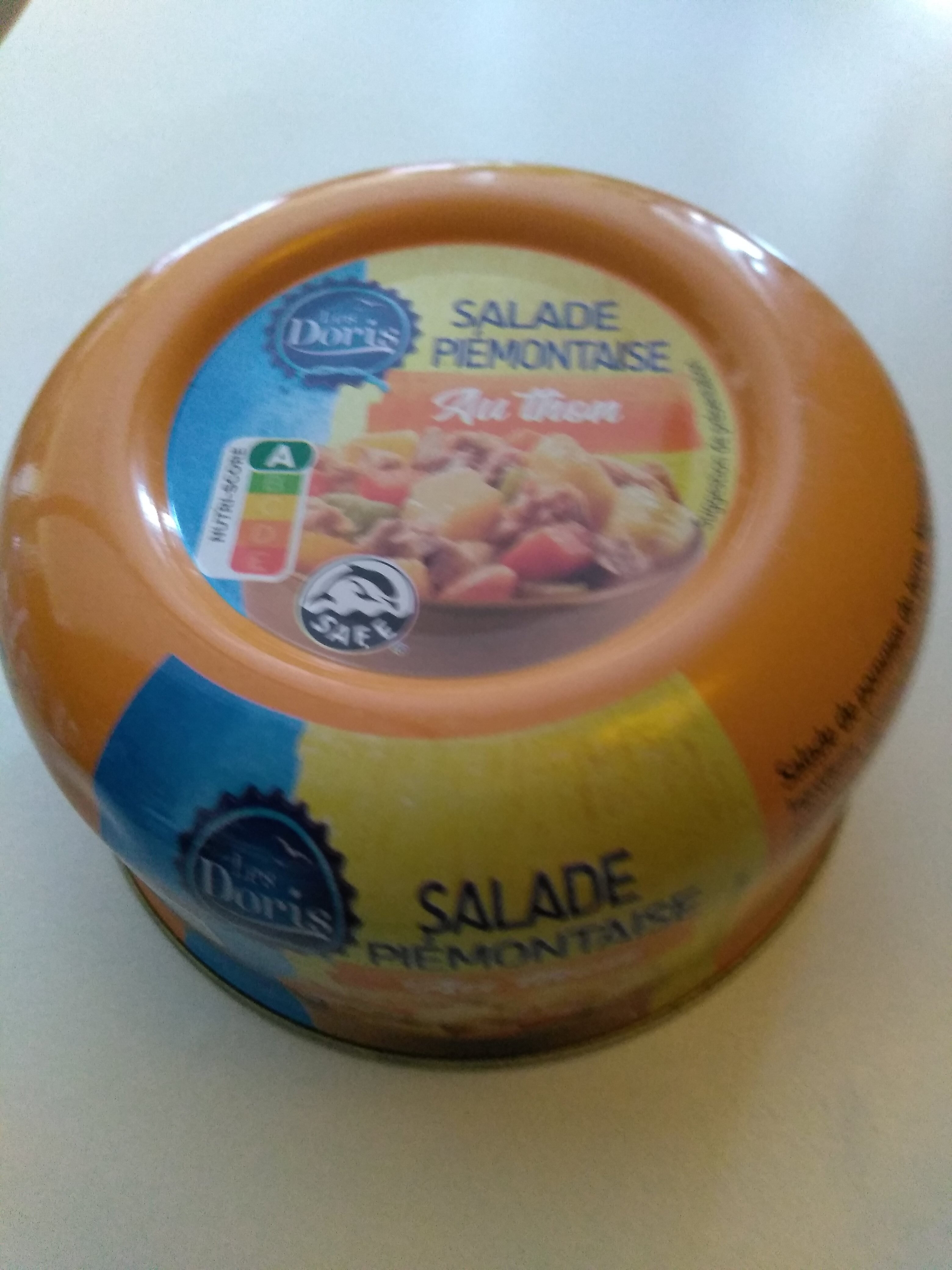 Salade Piémontaise au thon - Produit - fr