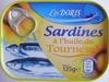 Sardines à l'huile de Tournesol (Lot de 2 boîtes) - Produit