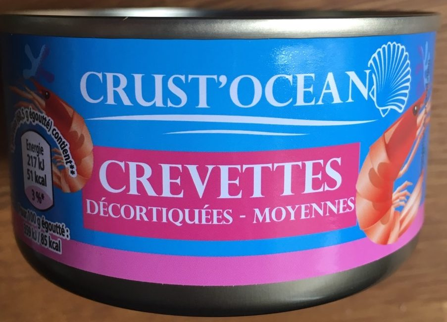 Crevettes décortiquées moyennes - Product