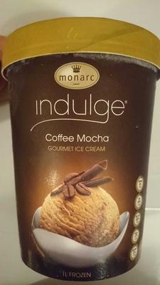 Indulge Coffee Mocha Gourmet Ice Cream - Product