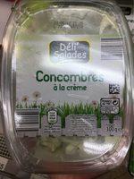 Concombres sauce au fromage blanc - Product