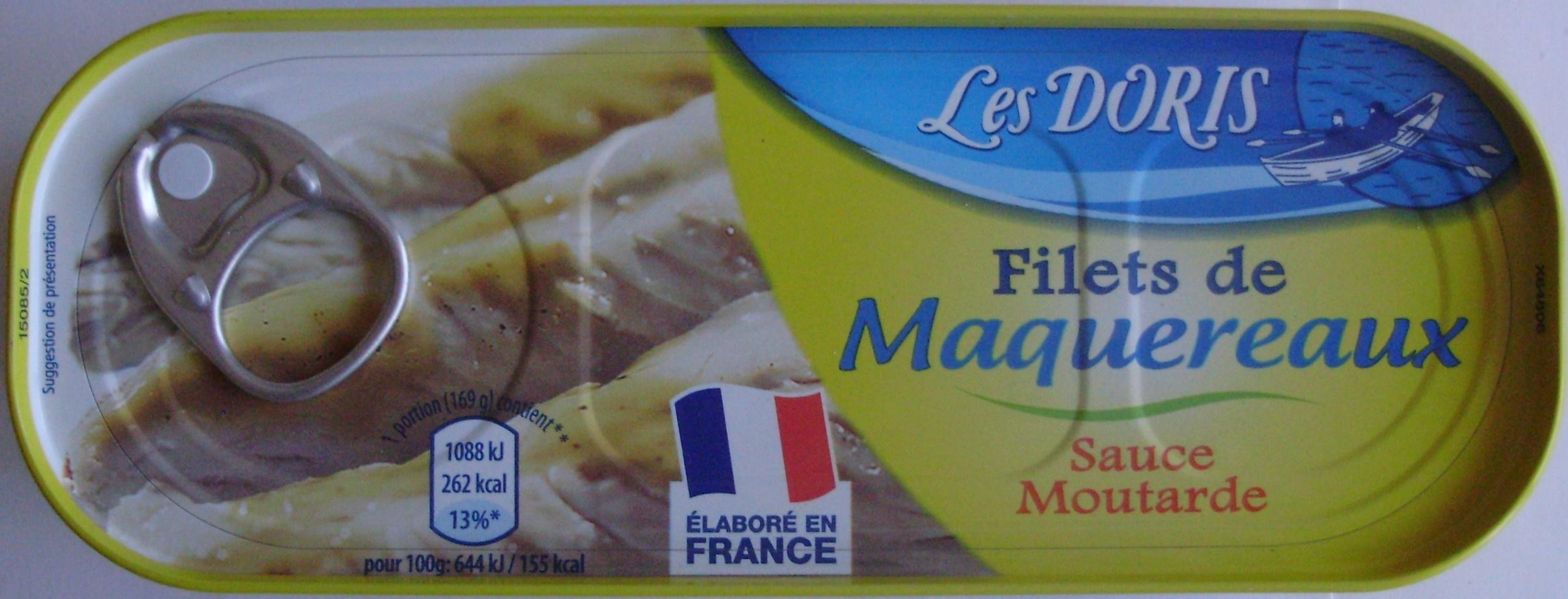 Filets de Maquereaux (Sauce Moutarde) - Product