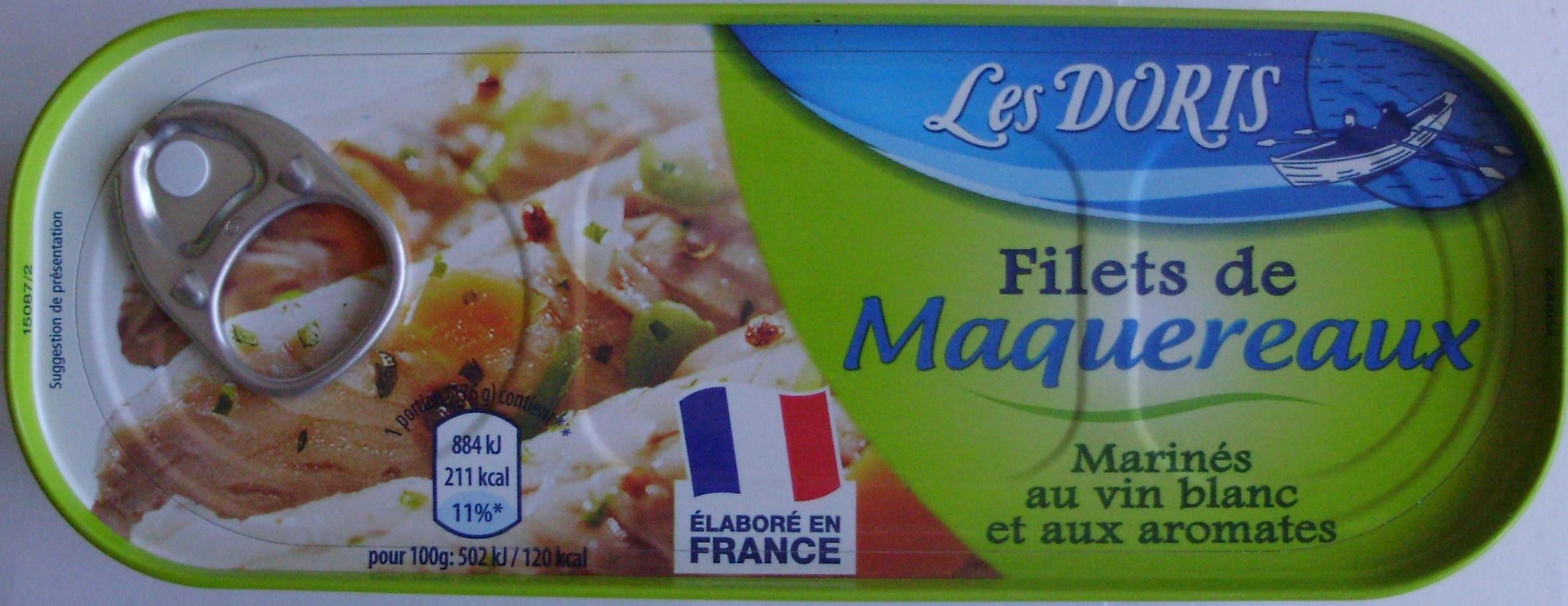 Filets de Maquereaux (Marinés au vin blanc et aux aromates) - Product
