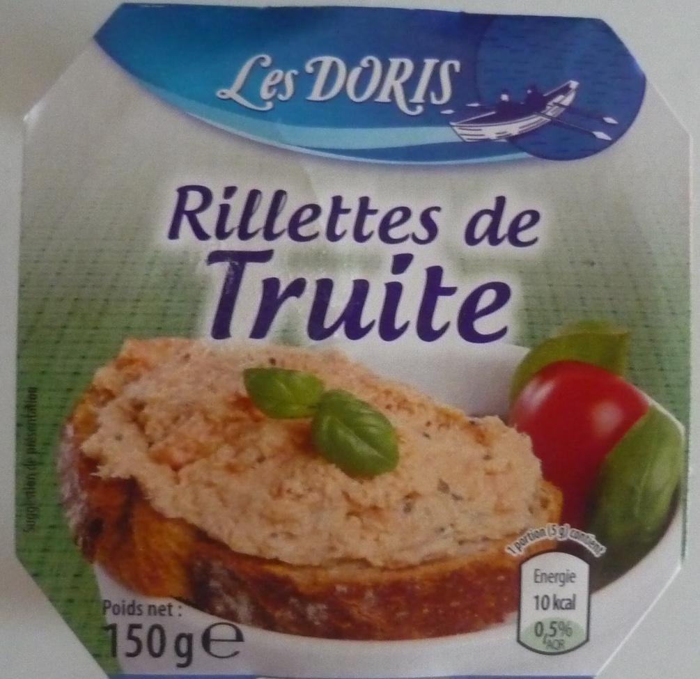 Rillettes de Truite - Produit - fr
